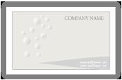 นามบัตรขาว-ดำ
