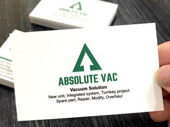 นามบัตรด่วนPVC